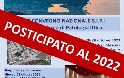 XXVI Convegno SIPI 2021-POSTICIPATO AL 2022